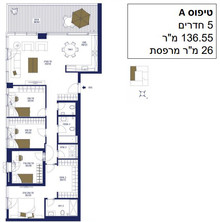 5 Room 136 m2 with 26 m2 Terrace.JPG