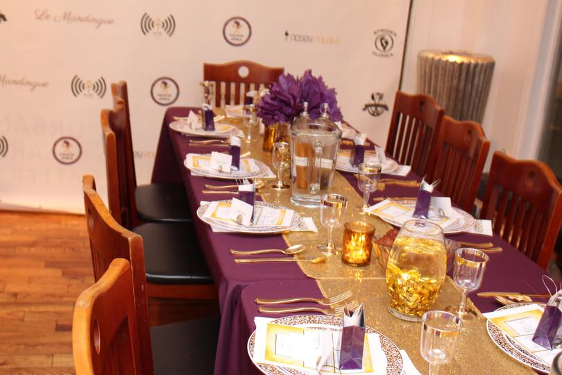 TOA PHL Dinner Table