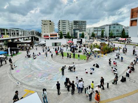 日本最大級のストリートアートイベント開催「扇町アウトドアパーク 2021」(神奈川県海老名市)