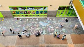 全長100m超え「ストリートアートイベント」(アツギトレリス/神奈川県厚木市)