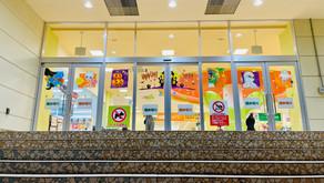 """魔法のチョークkitpasで描く「ガラスチョークアート """"ハロウィン""""」(ルララこうほく/神奈川県横浜市)"""