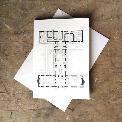 Alphabet Floorplan 'I'