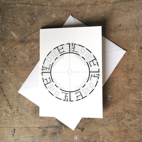 Alphabet Floorplan 'O'
