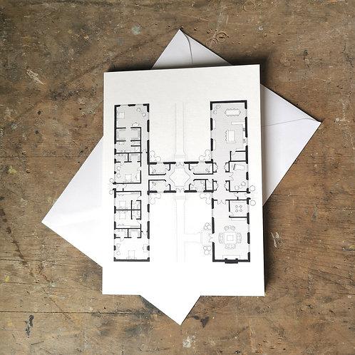 Alphabet Floorplan 'H'