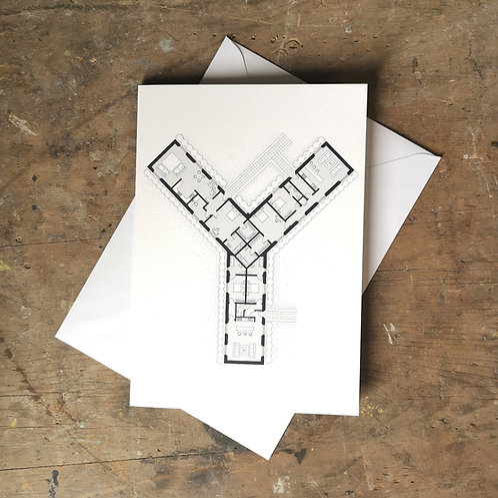 Alphabet Floorplan 'Y'
