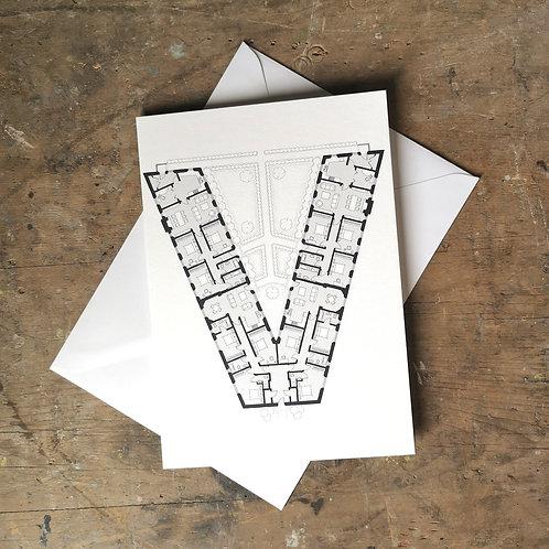 Alphabet Floorplan 'V'