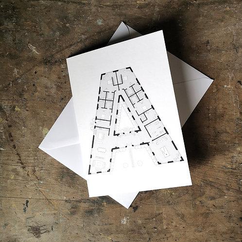 Alphabet Floorplan 'A'