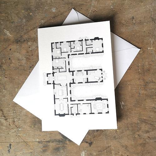 Alphabet Floorplan 'E'
