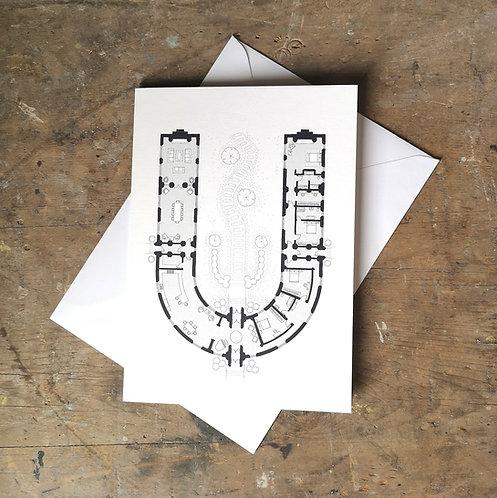 Alphabet Floorplan 'U'