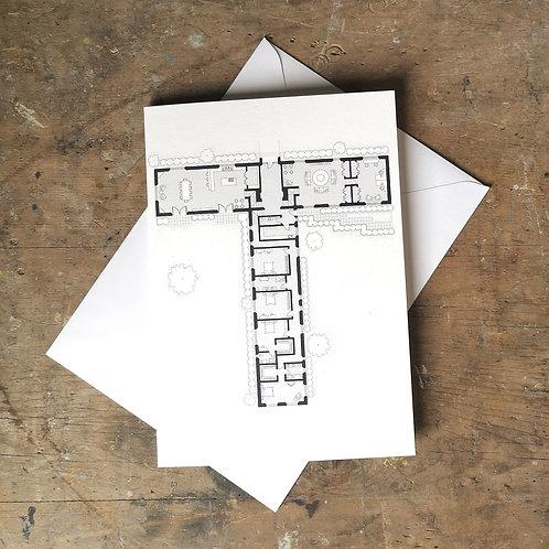 Alphabet Floorplan 'T'