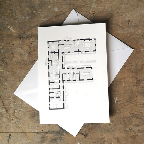 Alphabet Floorplan 'F'