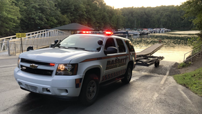 Two people, dog rescued after boating incident at Philpott Lake