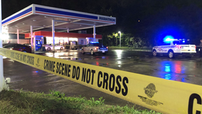 One taken to hospital after shooting at gas station in Collinsville