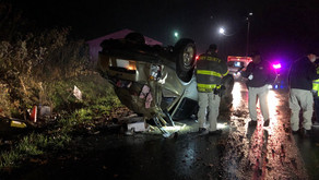 Overturned vehicle, no driver found at wreck in Henry County