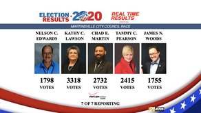 Lawson, Martin and Pearson win in Martinsville City Council Race