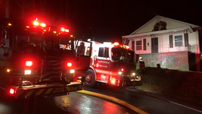 Crews on the scene of house fire in Martinville