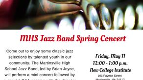 Jazz Band Spring Concert