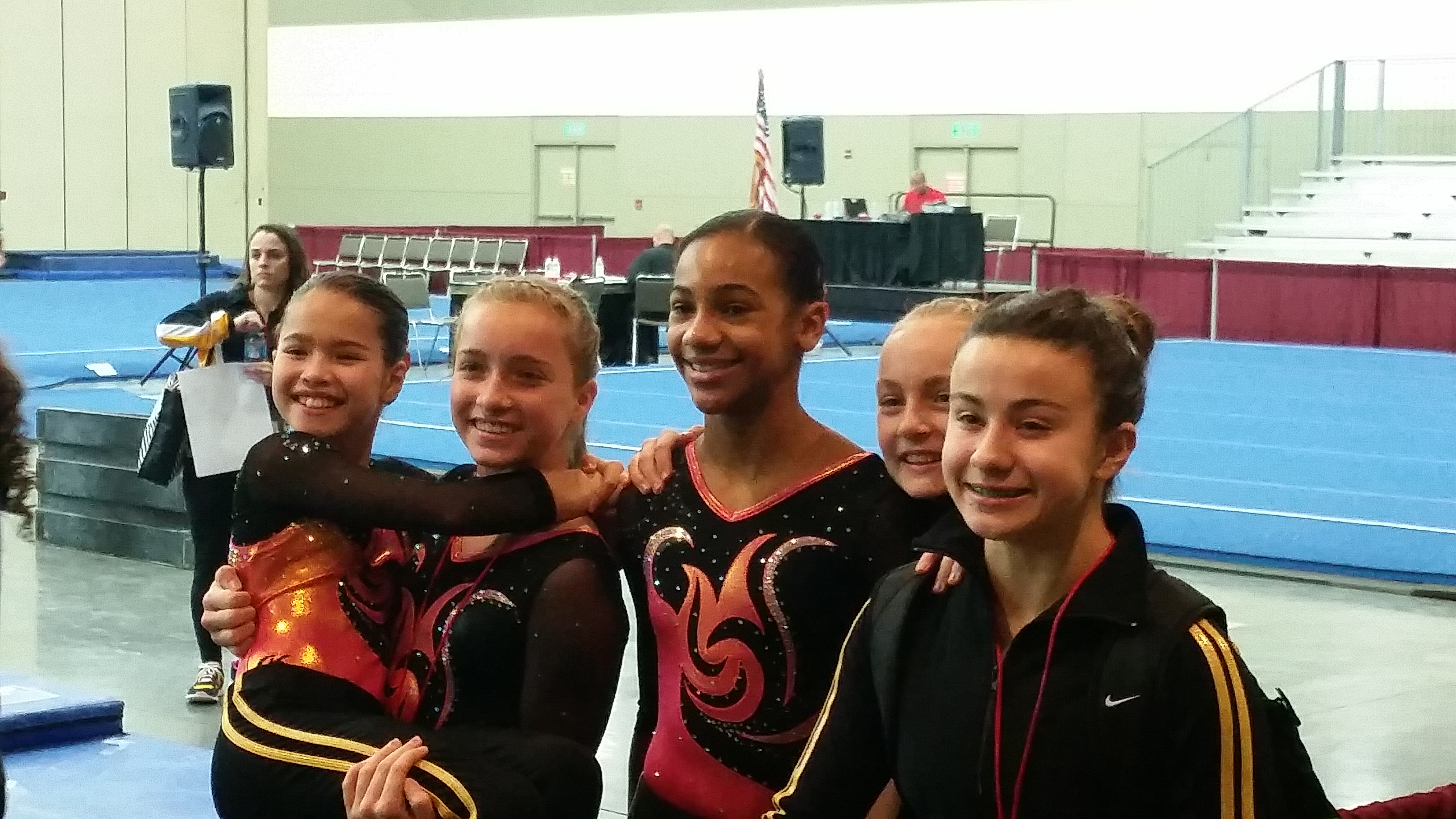2014 Girls Level 8 Team in Baltimore