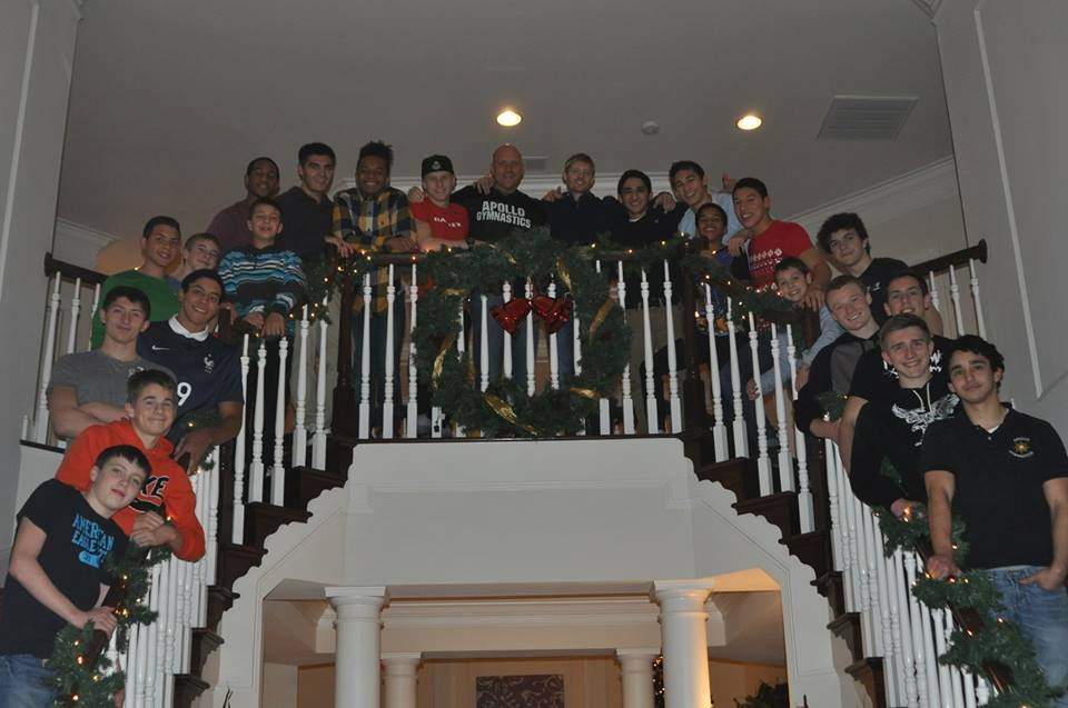 2014 Boys Sr Team Christmas Party