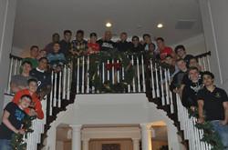 2014 Boys Sr Team Christmas Party