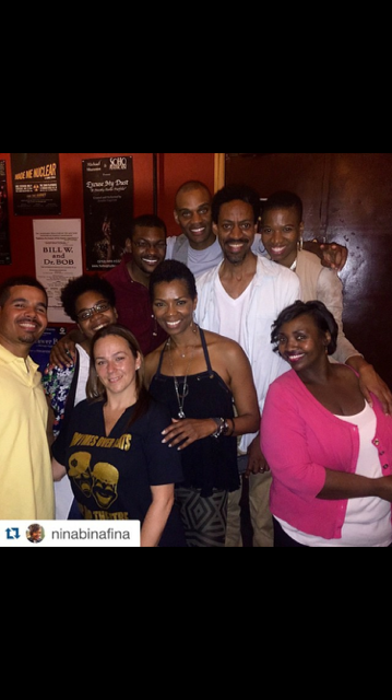Echoes of Octavia cast with actress Vanessa Williams