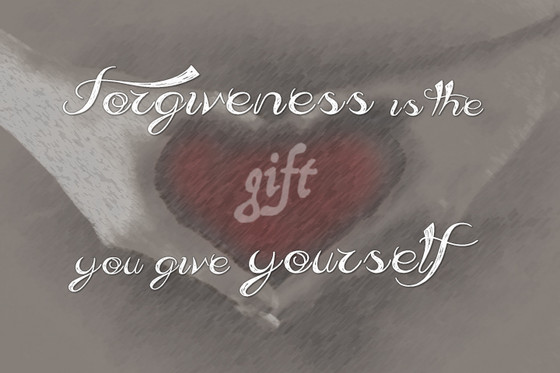 Forgiveness is a process...