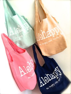 Alohappy ショッピングバッグ