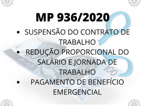 Suspensão de Contratos de Trabalho e Redução de Salário - Medida Provisória 936/2020