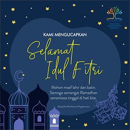 PSI Indonesia Mengucapkan Selamat Idul Fitri 1441 H