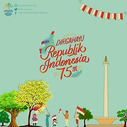 DIRGAHAYU INDONESIA KE-75, JAYALAH INDONESIAKU JAYALAH NEGERIKU