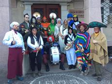 Carnevale 2019, davanti alla Casa di Riposo di Predazzo. Chi ha il travestimento migliore?