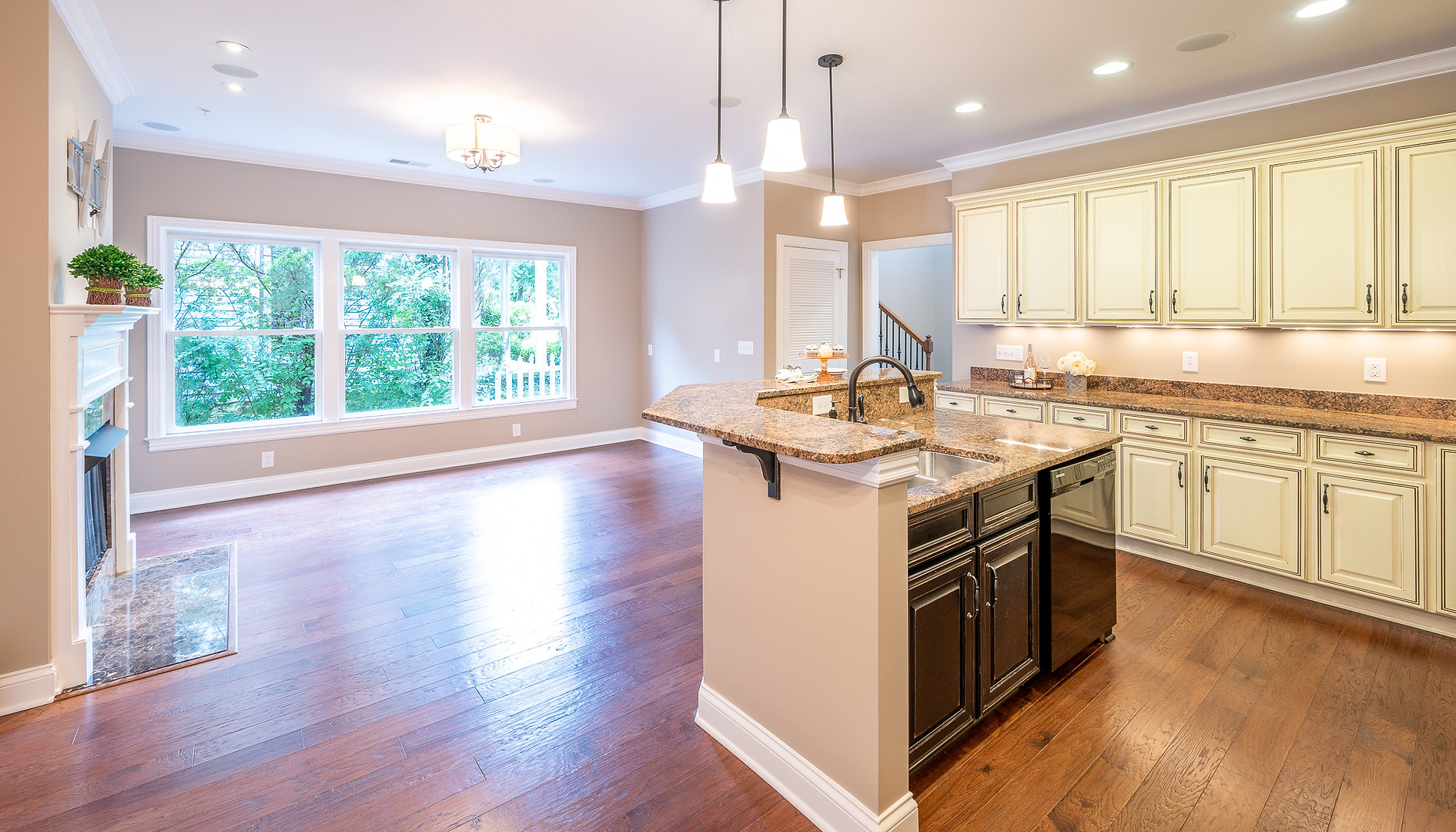 Franklin Townhome Kitchen view