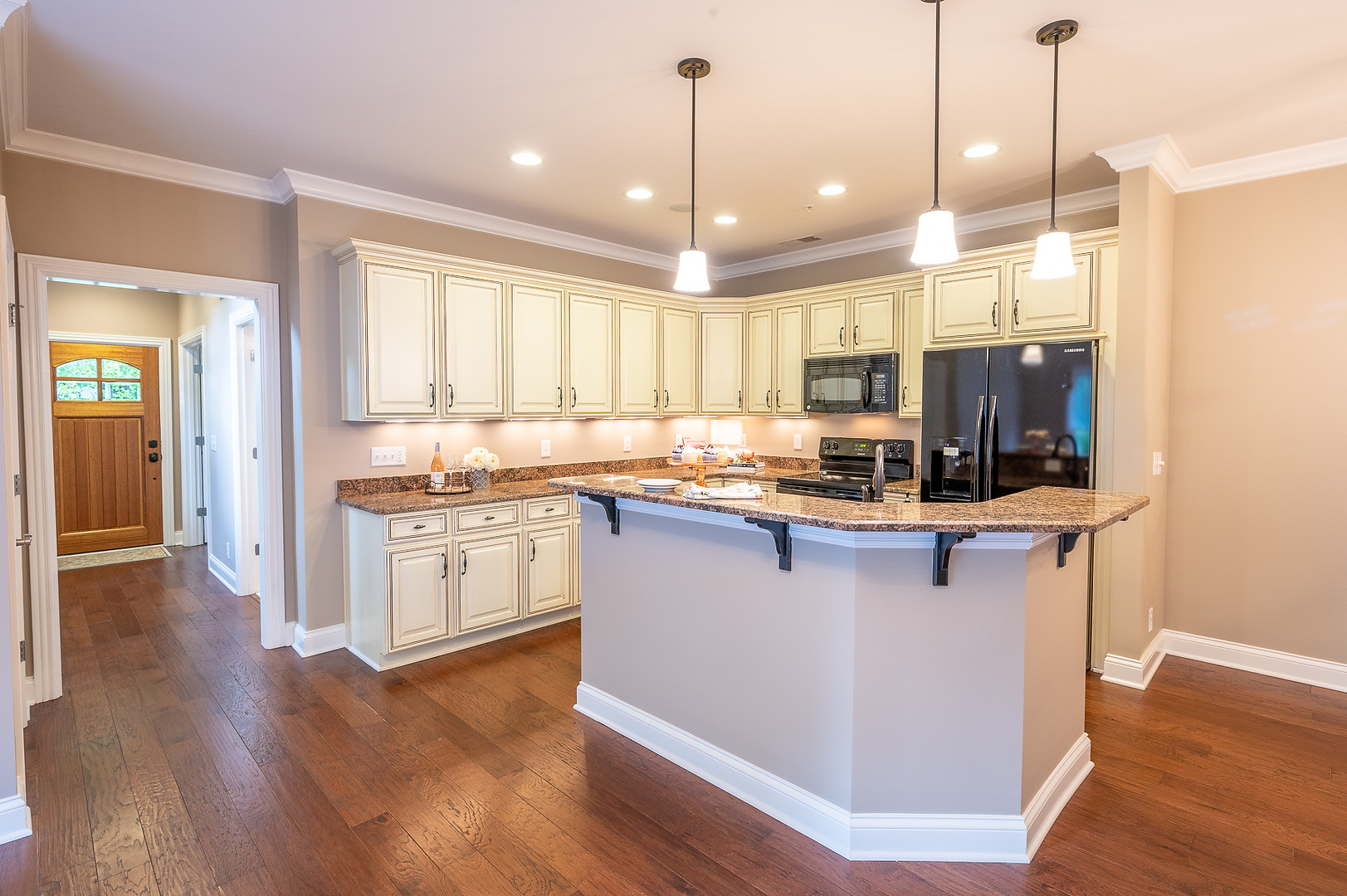 Franklin Townhome kitchen entry