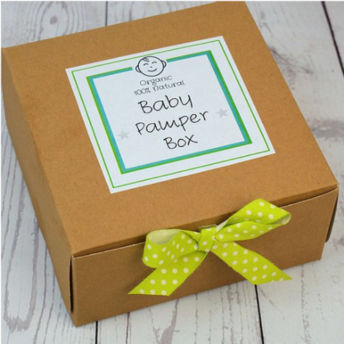Cheeky Chops Organic Baby Pamper Set with Edi Bear