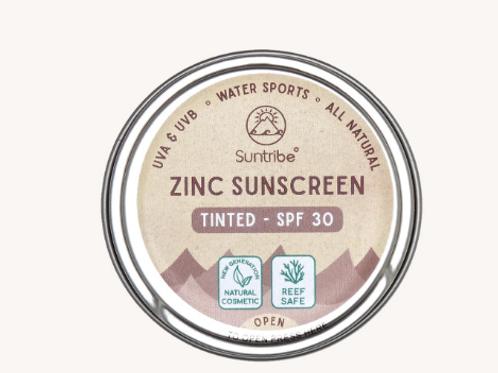 ZINC SUNSCREEN FACE & SPORT SPF30 | TINTED