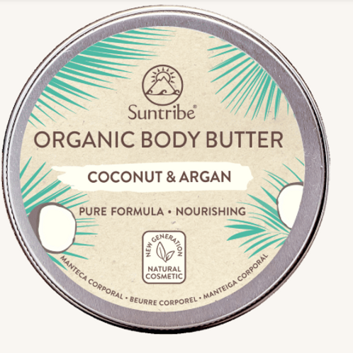 ALL NATURAL BODY BUTTER COCONUT & ARGAN