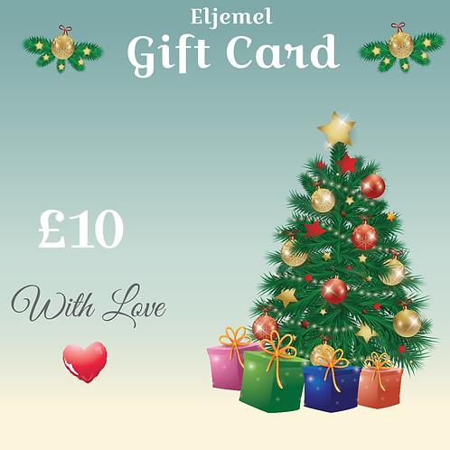 10£ Gift Card