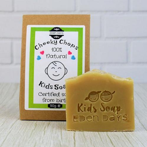 Cheeky Chops Kids Soap 90g