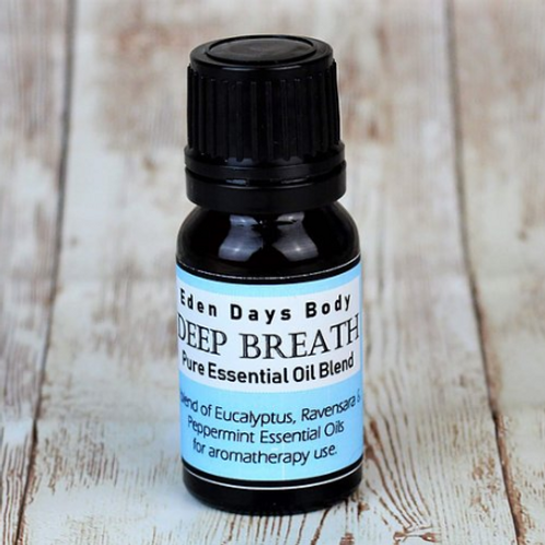 Deep Breath Essential Oil Blend - Eucalyptus, Ravensara & Peppermint