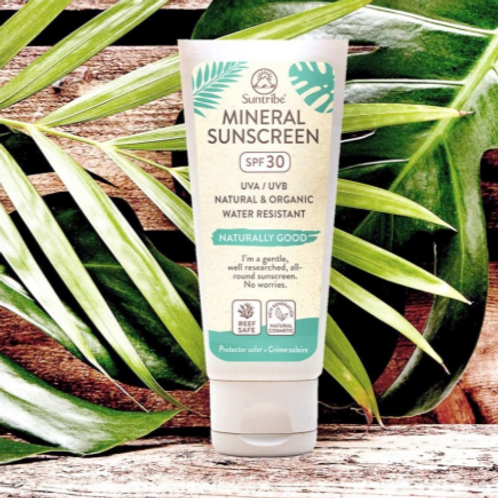 MINERAL BODY & FACE SUNSCREEN SPF30