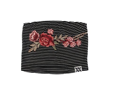 Floral Striped Bandeau