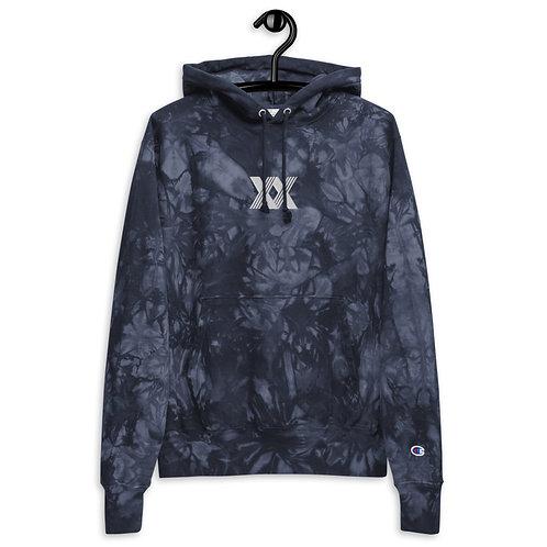 Radixx Champion Embroidered Tie-Dye hoodie