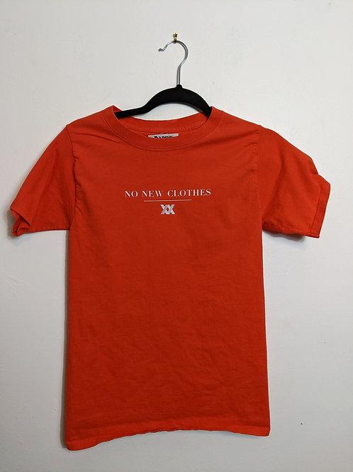 No New Clothes Orange Tee