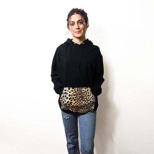 Cheetah Pocket Hoodie
