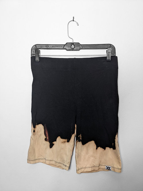 Dip-Dyed Biker Shorts