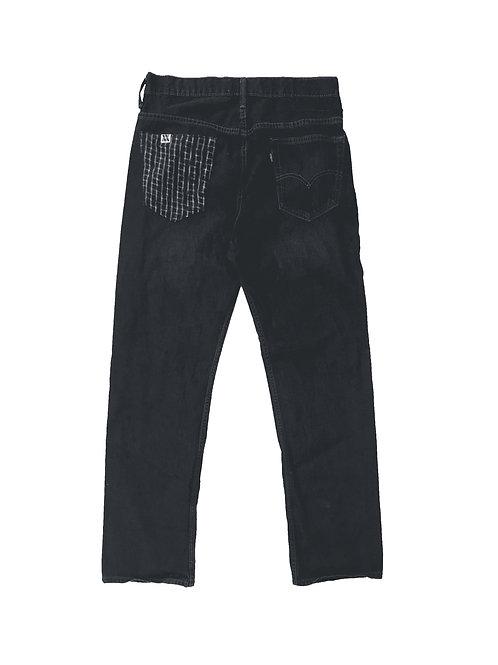 Grid Pocket Jeans