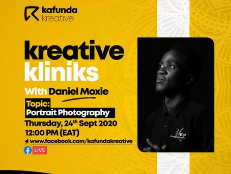 #KreativeKlinik : Portrait Photography 101 with Daniel Moxie