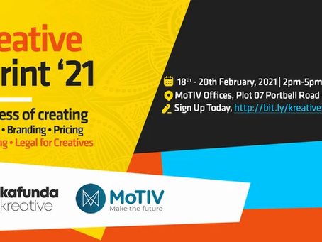 Creative Skilling: Register for the Kafunda #KreativeSprint21
