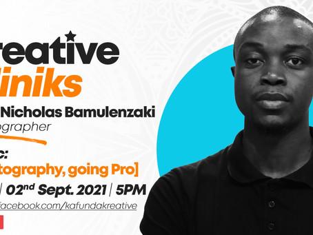 Kreative Kliniks : Nicholas Bamulanzeki On Going Pro As A Photographer