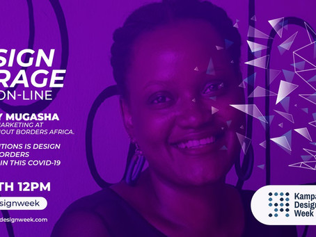 COVID19 : Designing For Disaster With Charity Mugasha #TheDesignGarage